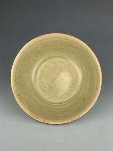 Beautiful Chinese porcelain celadon bowl Song period