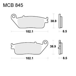 Scooter Brake Pads Sintered TRW For Kymco Grand Dink 300 i