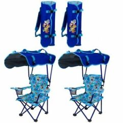Kids Chair With Canopy White Wood Desk Wheels Kelsyus Paw Patrol Portable Folding Kid S Lounge Details About 2 Pack