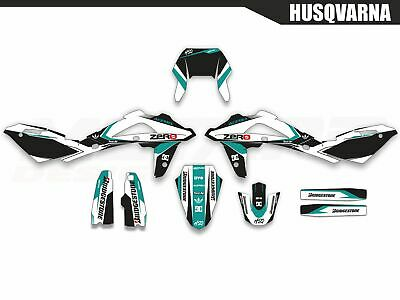 Motard graphics kit for Husqvarna WR 125 2008 2009 2010