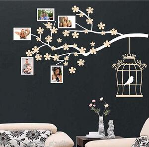 Photo Frame Tree Branch Wall Sticker WALL ART DECAL VINYL