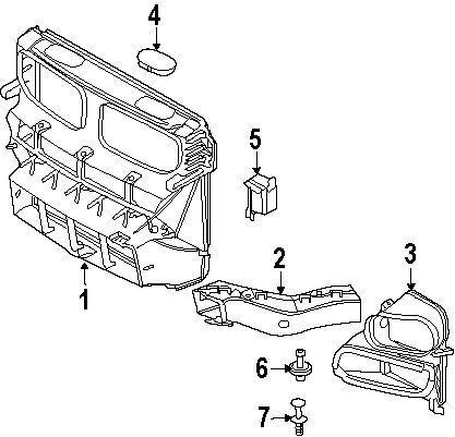 Buy BMW OEM 08-14 X6 Fender-duct Cover Left 51717169417