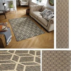 Grey Kitchen Rugs Affordable Kitchens Moda Geo Flatweave Utility Mats Hall Runners Anti Image Is Loading