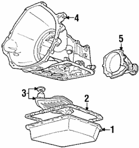 1995-1997 Ford Crown Victoria Transmission Extension