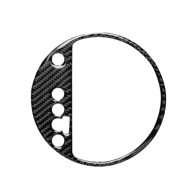 Car Carbon Fiber Gear Shift Box Manual Panel Trim for Audi