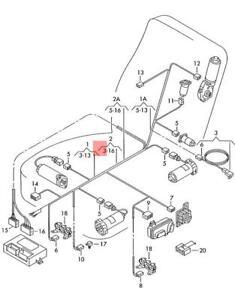 Genuine VW AUDI SEAT SKODA Adapter Wiring Harness For Side
