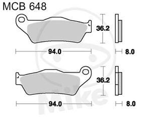 TRW Lucas Brake Pads MCB648SI Front KTM LC4-E 640