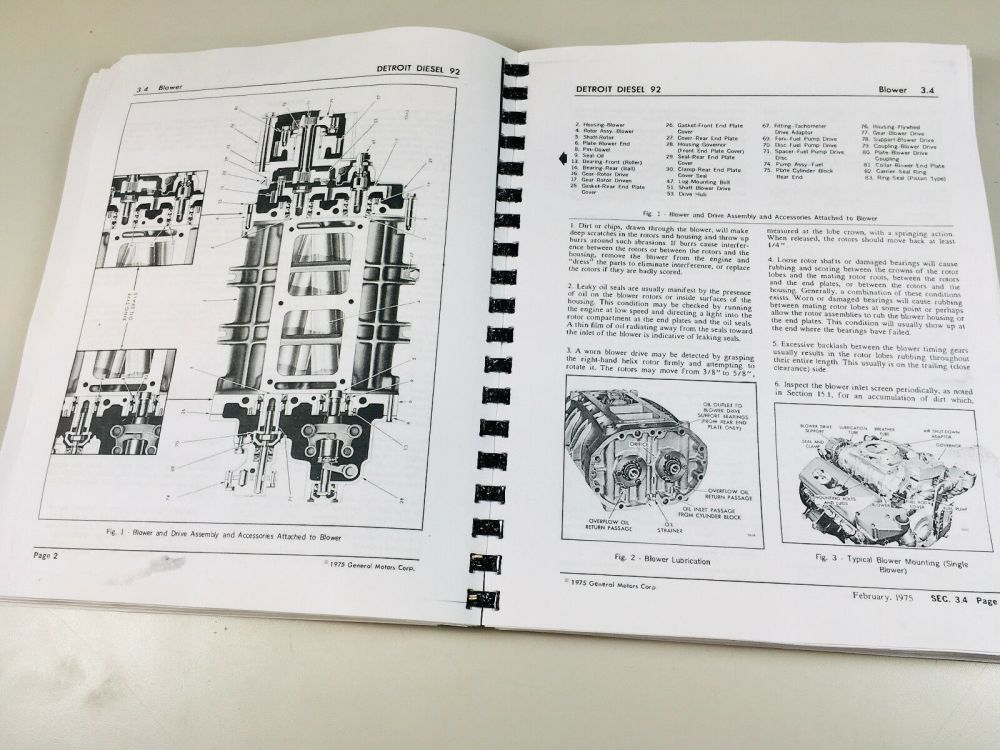 medium resolution of detroit diesel 92 series 6v92 8v92 engine service repair manual ebay