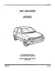 Bishko OEM Repair Maintenance Shop Manual Bound for Ford