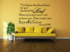 bible verse scripture removable vinyl decals wall stickers art home
