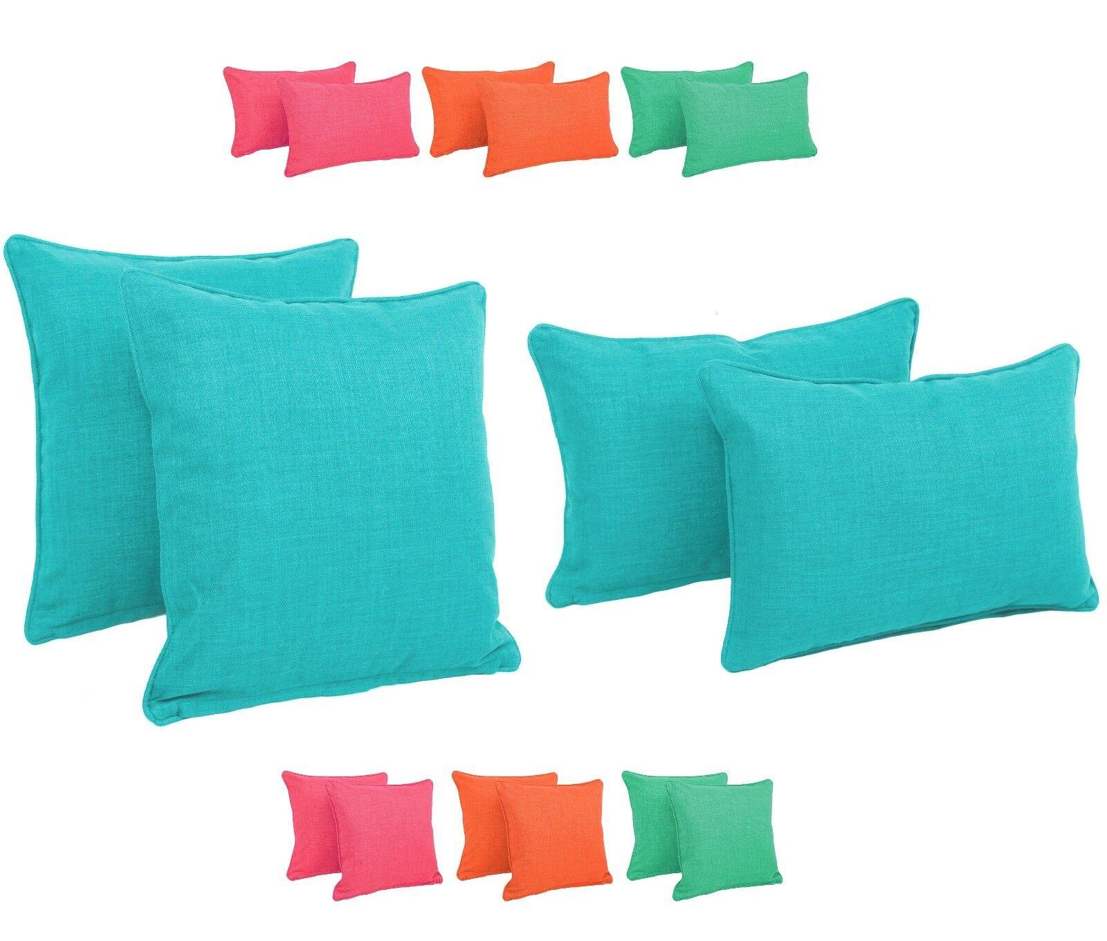 100 polyester sofa throws cindy crawford beachside denim patio throw pillows garden decorative cushions outdoor