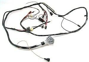 1968 Camaro Headlight Wiring Harness V8 RS & Console