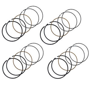 4 Sets Engine Piston Ring Oversize 77.5mm for Yamaha YZF