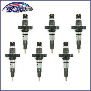 Brand New Set Of 6 Diesel Fuel Injector For Dodge Ram 5.9L