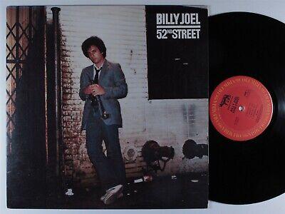 BILLY JOEL 52nd Street COLUMBIA LP VG+
