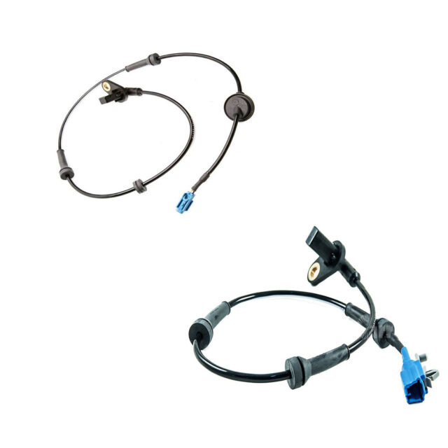 New Front Right & Left ABS Wheel Speed Sensors For 03-07