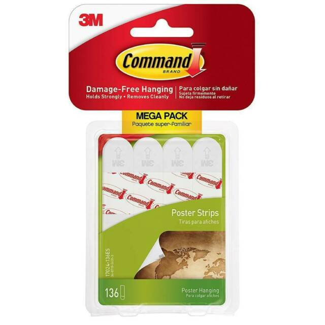 command poster hanging strips 136 total strips 17024 136es