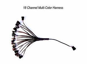 18 Channel LED Multi-Color Accent Light Harness RGB