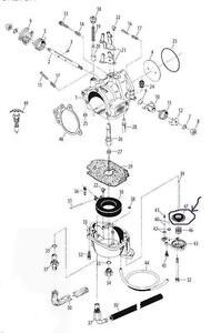 (1) S&S Cycle 11-2282 Carburetor Accelerator Pump