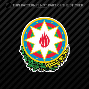 azerbaijani emblem sticker self