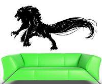 Wall Decal Wolf Werewolf Monster Beast Horror Evil Grin ...