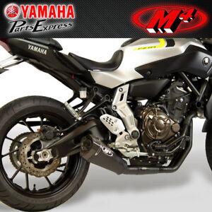 details about 2015 2020 yamaha fz 07 mt 07 xsr700 m4 black full exhaust system rm1 muffler