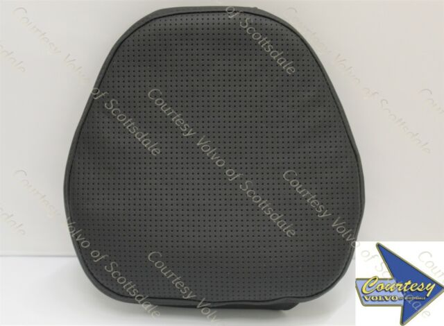 genuine volvo front seat headrest pillow leather 31470565