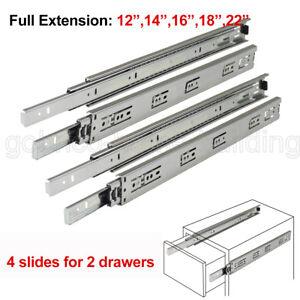 Soft Close Drawer Slides Side Mount