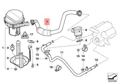 Genuine Engine Pressure Hose Assy BMW E39 M5 Sedan