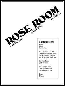 1918 ROSE ROOM Hickman, Big-Band Arrangement, 14