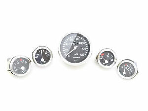 COMPLETE SPEEDOMETER+TEMP+OIL+FUEL+AMP GAUGES KIT WILLYS