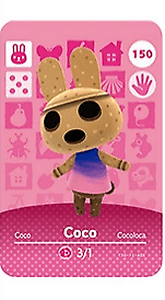 They play great with the game (animal crossing: Animal Crossing Amiibo   Coco Amiibo   PVC Card ACNH Villager   eBay