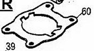 cylinder base head GASKET 224022 MCCULLOCH TRIMMER mc-9014