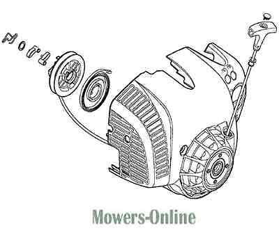 Stihl Blower Fan Housing & Rewind Starter Assembly 4241