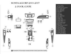 2013 2014 2015 2016 2017 HONDA ACCORD 2 DOOR INTERIOR