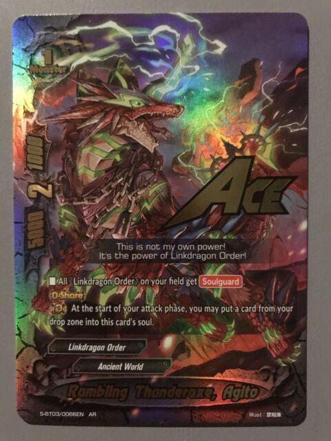 FUTURE CARD BUDDYFIGHT RUMBLING THUNDERAXE AGITO S-BT03/0066EN AR | eBay
