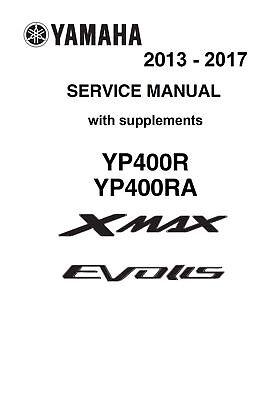 Yamaha X-Max 400 2013 2014 2015 2016 2017 Xmax Evolis