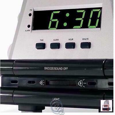 Alarm Smell Sound Wake Up Clock 4 Types