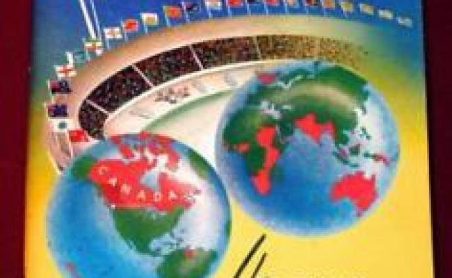 Rare 1954 British Empire And Commonwealth Games Program