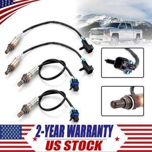 4X O2 Oxygen Sensor Up&Downstream 4wire for 2007 Chevrolet Silverado 1500 Tahoe | eBay