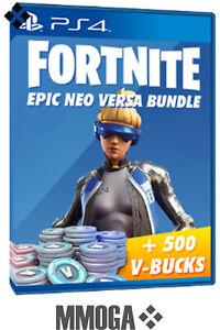 [PS4] Fortnite Epic Neo Versa bundle + 500 V B PS4 Download Code - EU NUR | eBay