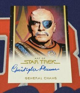 2019 Star Trek Inflexions Christopher Plummer Art of Star ...