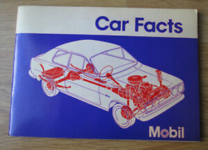 1972 MOBIL Book--CAR FACTS