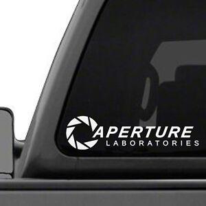 Aperture Laboratories Portal Game Vinyl Decal Sticker FREE SampH EBay