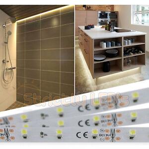 led tape kitchen washable rugs target strip lights warm white mood under cabinet image is loading