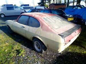 FORD CAPRI 2.0 EFi PROJECT BARN /GARAGE FIND, STORED AWAY SINCE MARCH 1994.