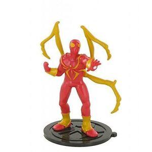 Marvel Iron Spiderman Toy Figure Cake Topper Ebay