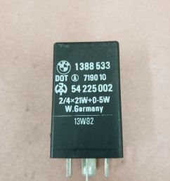 oem bmw z3 96 02 e36 hazard flasher relay module siemens 61361388533 1388533 for sale online ebay [ 1200 x 1600 Pixel ]