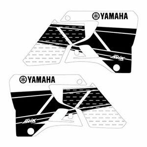 Yamaha YZ125 YZ250 1996-2001 Retro Shroud Graphics white