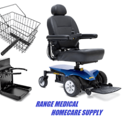 Wheelchair Ebay Chair Cover For Recliner Mobility Scooter Power Electric Transportable Image Is Loading